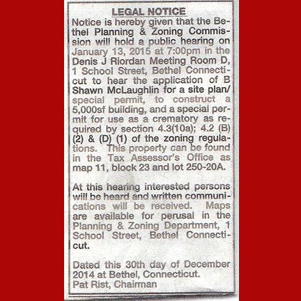 Urgent Notice Of Public Meeting On Jan 13 2015 Regarding The