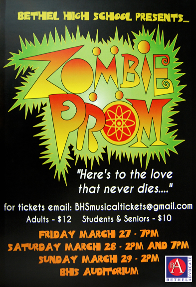 c394e6f2b6c3 Bethel High School Presents  Zombie Prom  on March 27-28-29 – Bethel ...