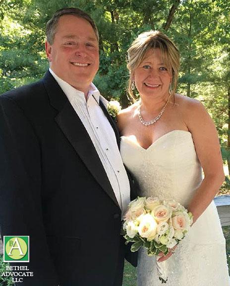 CT State Rep. Dan Carter And Jane Ann McBride Wed, June 25