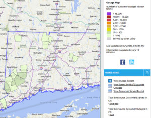 Eversource Reports 1 468 Outages In Ct 118 In Bethel Without Power