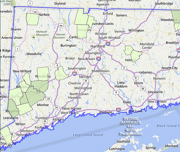 Eversource Reports 1468 Outages in CT 118 in Bethel Without Power