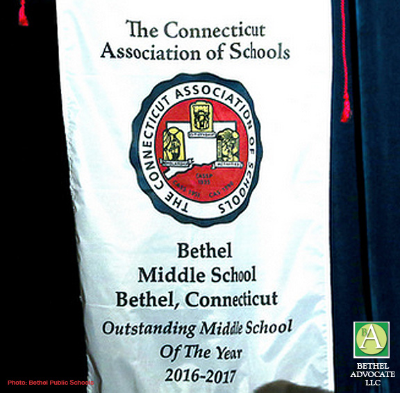 Bethel Middle School Named Cas Middle School Of The Year Bethel