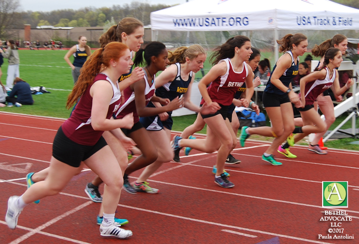 videos  photos  results of bethel high school girls track  u0026 field meet  hosting weston and kolbe