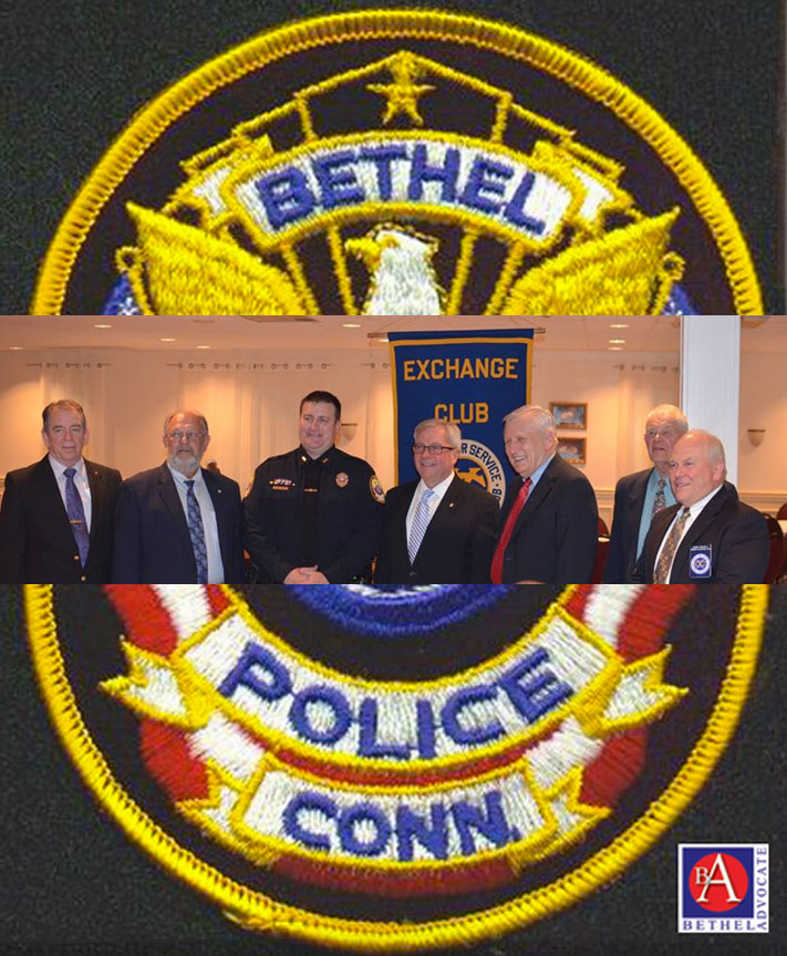 Bethel Police Detective William May Receives Officer Of