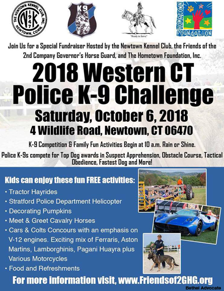 Third Annual Western CT Police K-9 Challenge Fundraiser to