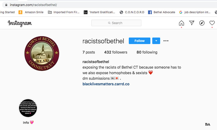 Black Lives Matter Graffiti On Bethel Public Schools Campus Mystery Website Exposes Racist Comments Bethel Facebook Group Hacked Bethel Advocate